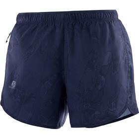 Salomon Agile Pantaloncini Donna, blu